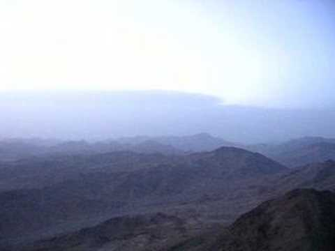 Mount Sinai - View from the Peak near Sunrise