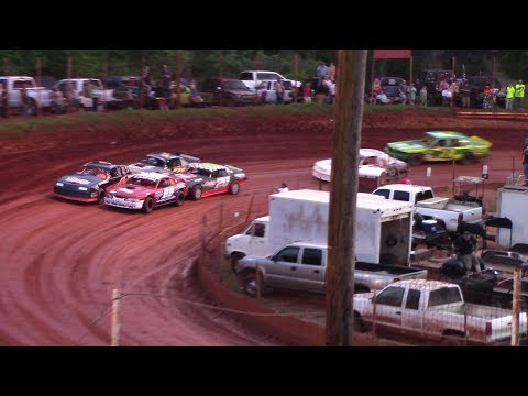Winder Barrow Speedway Stock Eight Cylinders Feature Race 4/13/19