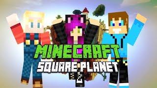 Minecraft SQUARE PLANET SURVIVAL 2 - Nieposkromiona Kunegunda i moje pierwsze diamenty! #3