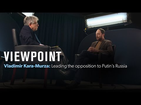 Vladimir Kara-Murza: Leading the opposition in Putin's Russia – Full interview | VIEWPOINT