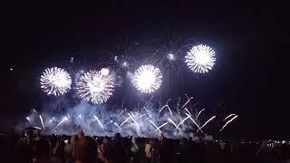 Фестиваль Фейерверков в Ессентуках 2019, первая команда из России