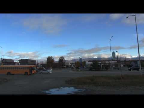 Take a train ride on the Alaska railroad. Anchorage to Fairbanks.