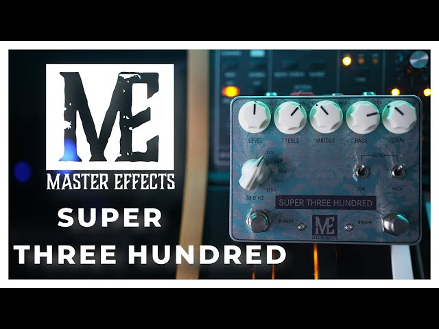 Master Effects Super 300 BASS Review! SMOOTH!
