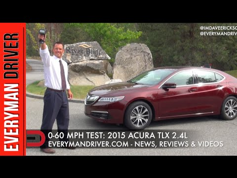 how fast 0 60 mph 2015 acura tlx 2 4l on everyman driver youtube. Black Bedroom Furniture Sets. Home Design Ideas
