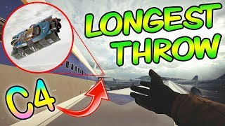 LONGEST THROW EVER!? - Rainbow Six Siege (Operation Grim Sky)