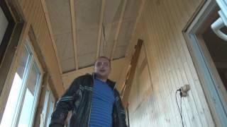 видео Отделка деревянной вагонкой