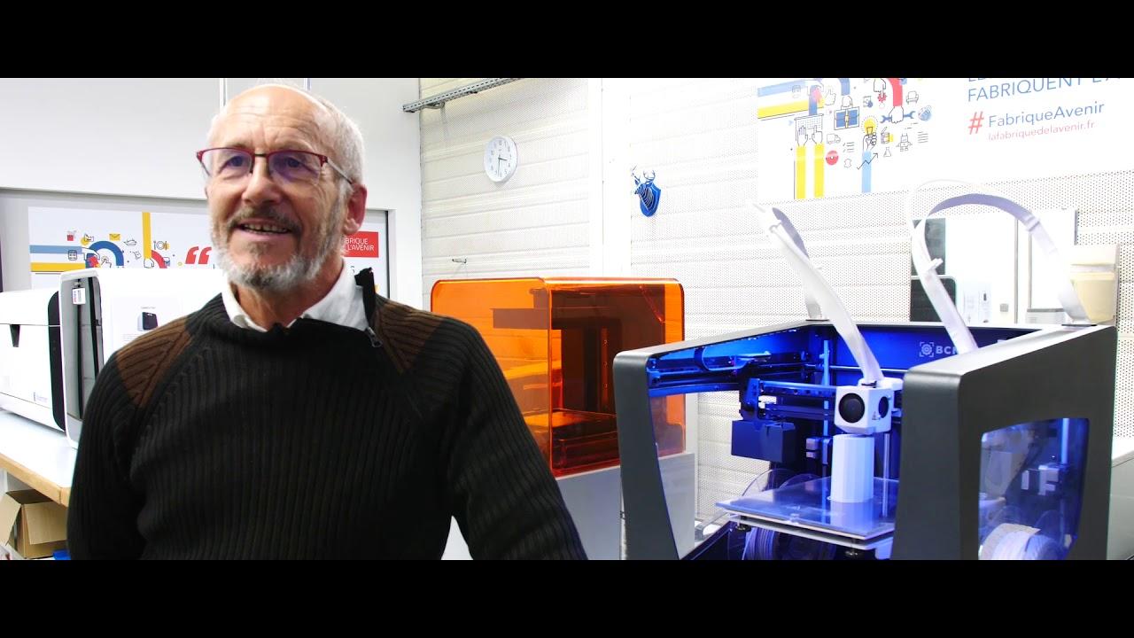 Lien vers la vidéo : <p>Une montre imprimée en 3D « made in » Besançon</p>
