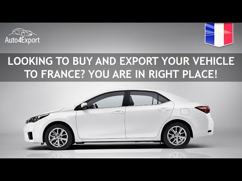 Shipping Cars From USA To France - Auto4Export