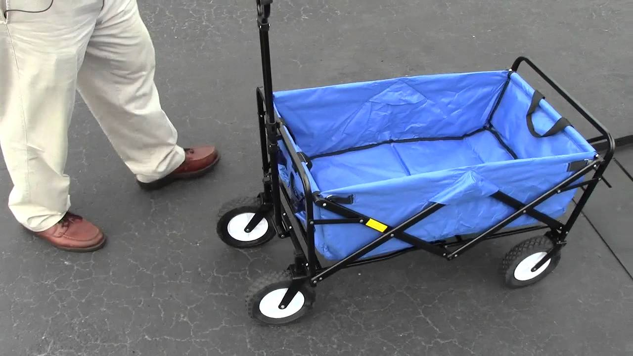 Collapsible Wagon Attachable to your Wheel Chair