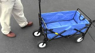 Collapsible Wagon, Attachable To Your Wheel Chair, Accessory Cart, Easy To Store.