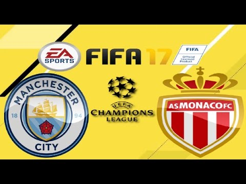 PS4 FIFA 17 Gameplay Manchester City vs AS Monaco HD