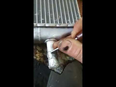 Пайка алюминиевого радиатора без паяльника карандашом экстрапайк супер эконом средство