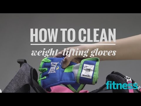 How to Clean Weightlifting Gloves | Fitness