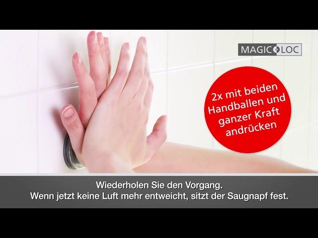 WENKO Magic-Loc Montage