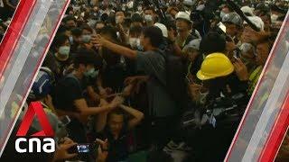 China condemns actions of protesters at Hong Kong airport