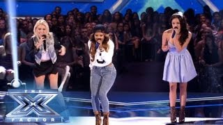 "Are These Girls United? ""Yeah!"" - THE X FACTOR USA 2013"