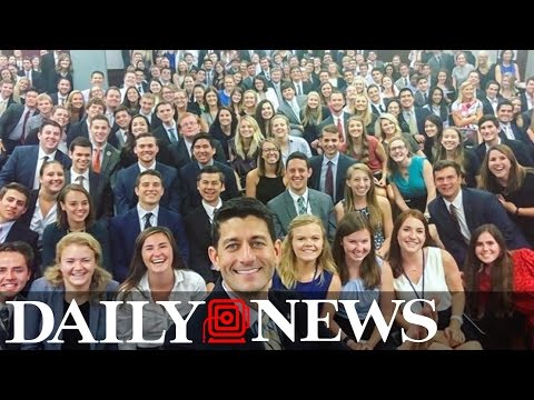 Paul Ryan blasted for picture of Congressional interns with few minorities