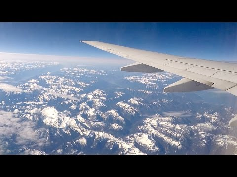 GoPro Time Lapse Flying to Vancouver Canada