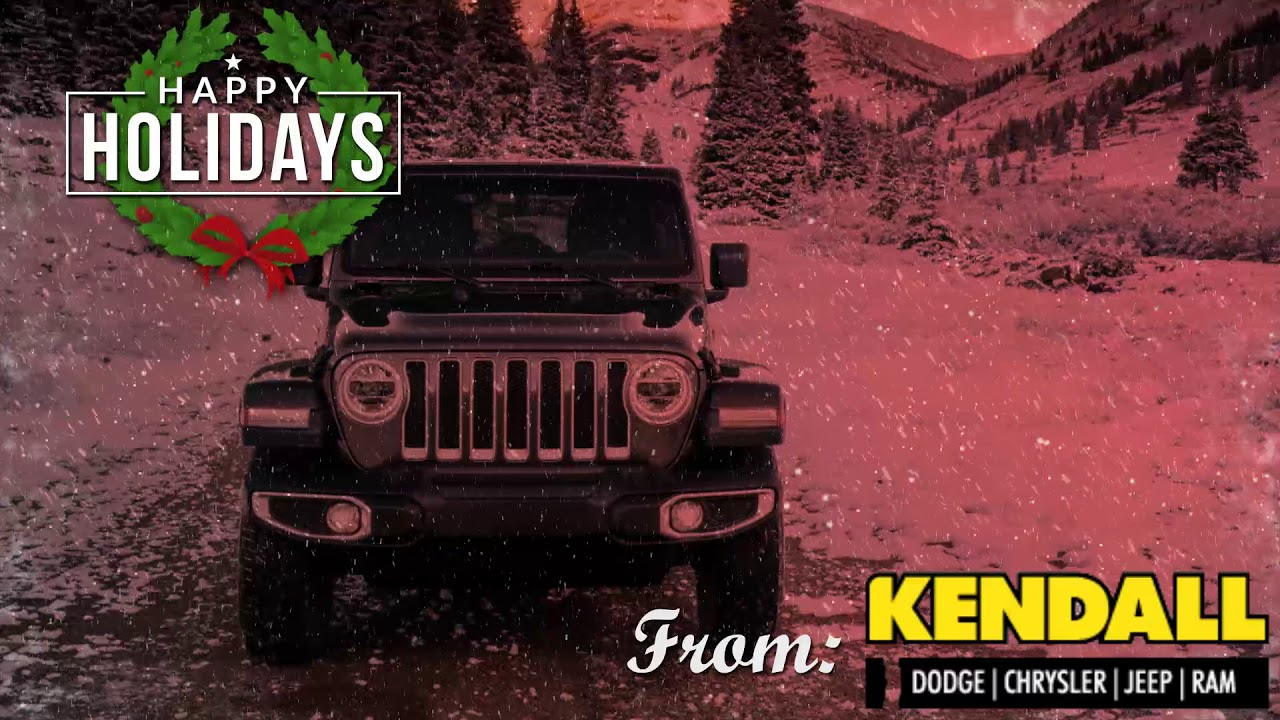 Kendall Dodge Chrysler Jeep Ram >> Happy Holidays From Kendall Dcjr Soldotna Youtube