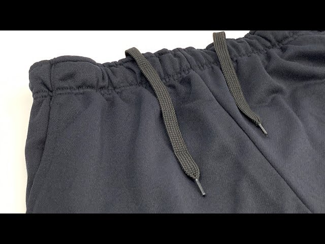 Nike Dri-Fit Men's Tapered Fleece Training Pants Black (Standard Fit)【4K】