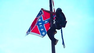 Bree Newsome Risks Life To Cut Down Confederate Flag