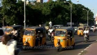 Smooth flow of traffic in Chennai