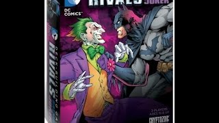 DC Comics Deck-Building Game: RIVALS - Batman vs Joker review - Board Game Brawl