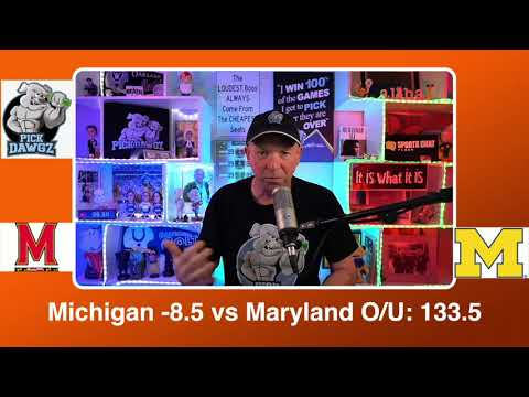 Michigan vs Maryland 3/12/21 Free College Basketball Pick and Prediction CBB Betting Tips