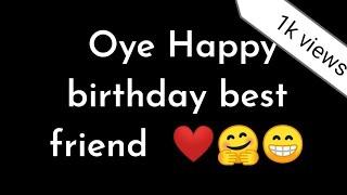 Happy birthday wishes for best friend ||birthday poetry || Happy birthday Bestie aur surprise