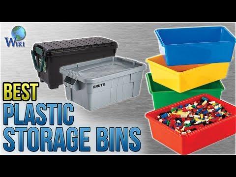 10 Best Plastic Storage Bins 2018