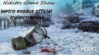 Metro exodus official trailer+review