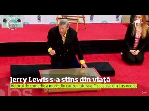 Actorul de comedie şi regizorul Jerry Lewis a murit la vârsta de 91 de ani