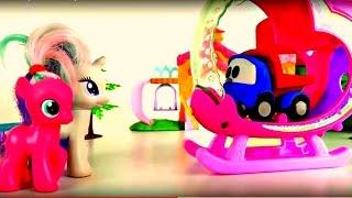 Dessin animé pour les filles. Pinkie Pie et Rarity choisissent une nouvelle maison.