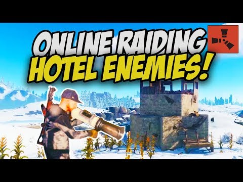 TAKING BACK my HOTEL! Online Raiding Sulfur Rich Neighbours! - Rust Survival Gameplay thumbnail