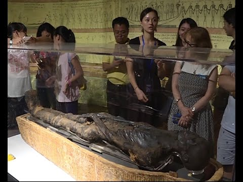 3,000-yr-old mummy of Ramesses II's son on display in E China