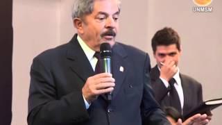 Mensaje del expresidente Luiz Inácio Lula Da Silva a los universitarios y visita de Paolo Guerrero