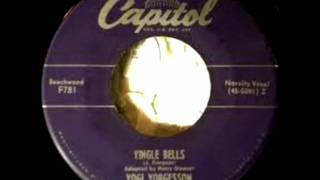 Yingle Bells by Yogi Yorgesson on 1949 Capitol 45.