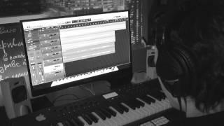 """Работа в студии над песней """"Клинок"""""""