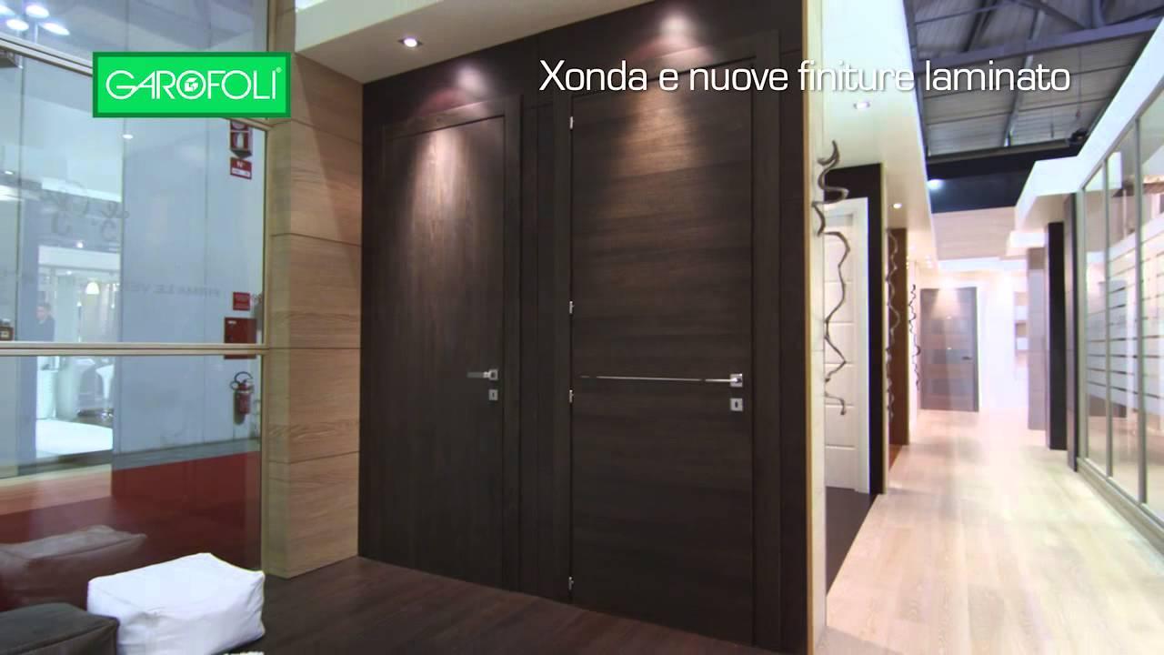 Gruppo Garofoli - Porte Xonda Gidea - nuove finiture laminato - YouTube