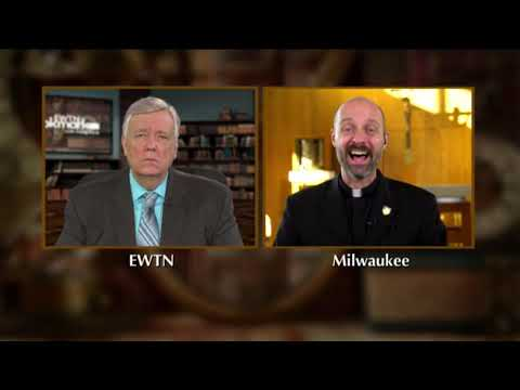 EWTN Bookmark - Fr Joe Laramie, S.J. Abide in the Heart of Christ: A 10-Day Personal Retreat with St