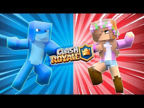 Download Youtube: BOYFRIEND & GIRLFRIEND CLASH ROYALE! | Minecraft Little Kelly