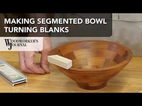 How to Make Segmented Bowl Turning Blanks