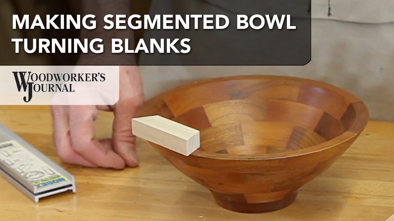How to Make Segmented Bowl Turning Blanks