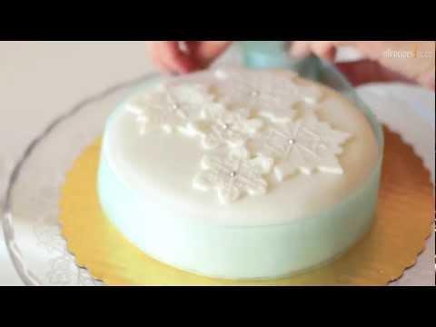 décorer-un-gâteau-de-noël