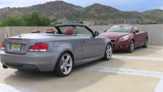 2010 BMW 135i vs. 2010 Volvo C70 review