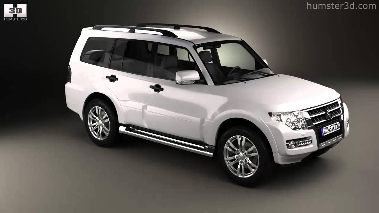 mitsubishi pajero montero wagon 2015 by 3d model store humster3dcom youtube - Mitsubishi Montero 2015 Interior
