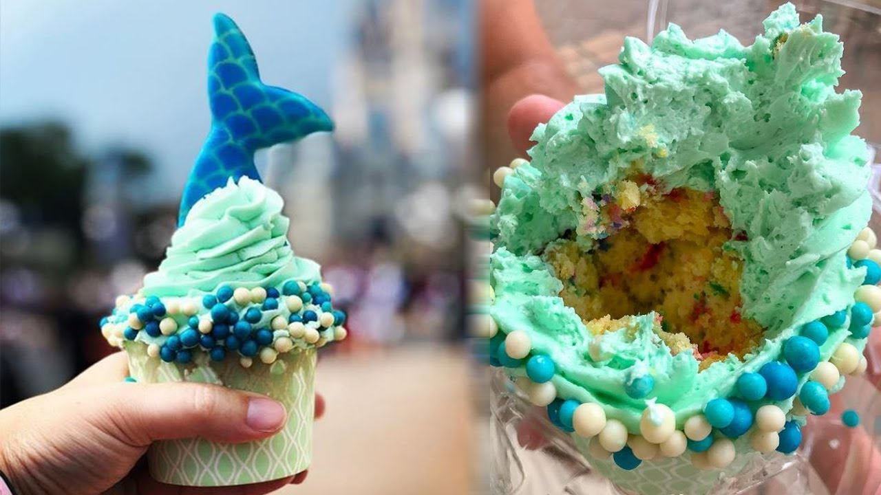 Disney's NEW Little Mermaid Inspired Cupcakes are Out of This World