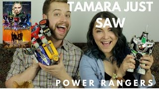 Power Rangers - Tamara Just Saw