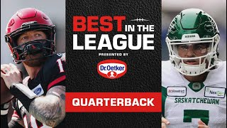 CFL Best in the League 2020 | ep.1: Quarterback
