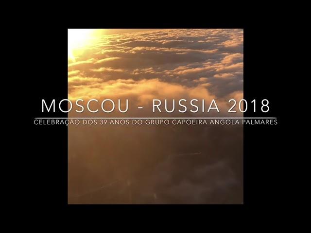 CAPOEIRA MOSCOU - 39 Anos de Angola Palmares